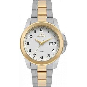 Relógio Technos Masculino Analógico Bicolor 2115MQH/5B