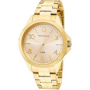 Relógio Technos Feminino Analógico Dourado 2035MEK/4X