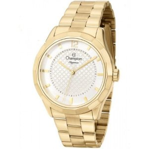 Relógio Champion Feminino Analógico Dourado CN27581H