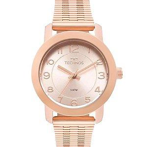 Relógio Technos Feminino Analógico Rosé 2035MLT/4J