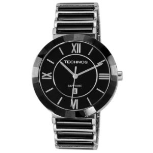 Relógio Technos Feminino Analógico Cerâmica Preto 2015BX/1P