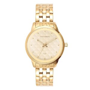 Relógio Technos Feminino Analógico Dourado 2035LWM/4X