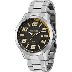 Relógio Technos Masculino Analógico Prata 2115KNE/1Y