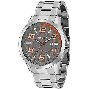 Relógio Technos Masculino Analógico Prata 2115KNE/1L