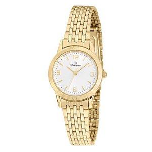 Relógio Champion Feminino Analógico Dourado CH26775W