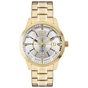 Relógio Technos Masculino Analógico Dourado 2315KZW/4D