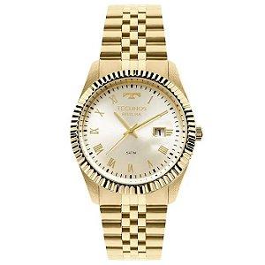 Relógio Technos Masculino Analógico Dourado 2115KQQ/4X