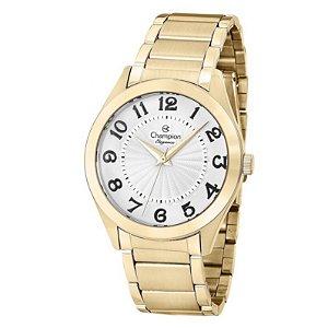 Relógio Champion Feminino Analógico Dourado CN25029W