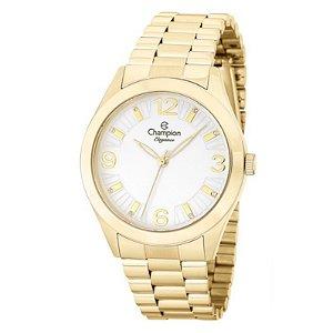 Relógio Champion Feminino Analógico Dourado CN25216W