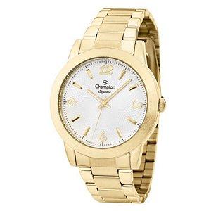 Relógio Champion Feminino Analógico Dourado CN26760W