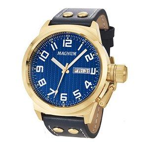Relógio Magnum Masculino Analógico Couro MA32765A
