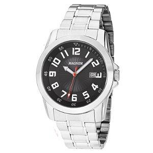 Relógio Magnum Masculino Analógico Prata MA32792T