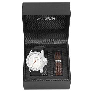 Relógio Magnum Masculino Analógico Preto MA34870D
