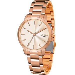 Relógio Lince Feminino Analógico Rosé LRR4482LR1RX