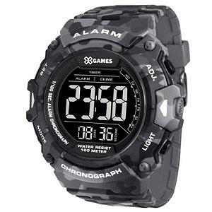 Relógio X-Games Masculino Digital Camuflado XMPPD487PXGP