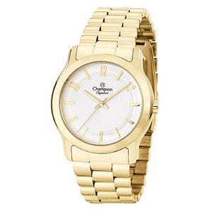 Relógio Champion Feminino Analógico Banhado a Ouro CN25047W