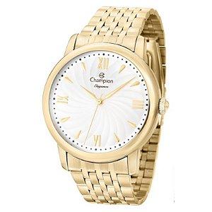 Relógio Champion Feminino Analógico Banhado a Ouro CN27787W