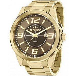 Relógio Technos Masculino Analógico Dourado 2115LAA/4C