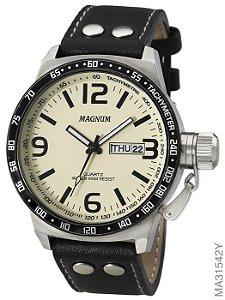 Relógio Magnum Masculino Multifunção Dourado MA31542Y