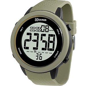 Relógio X-Games Masculino Digital Verde Militar XMPPD472BXEX