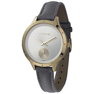 Relógio Lince Feminino Analógico Dourado LRC4529L