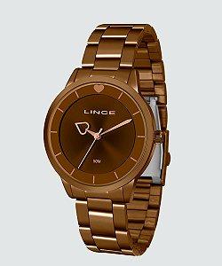 Relógio Lince Feminino Analógico Marrom LRB4572L