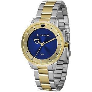 Relógio Lince Feminino Analógico Bicolor LRT4572L