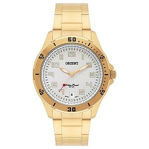 Relógio Orient Masculino Analógico Dourado MGSS1105AS2KX
