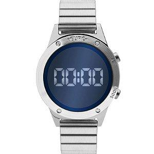 Relógio Euro Digital Prata Feminino EUJHS31BAA/3A