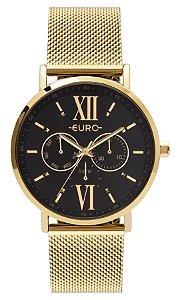 Relógio Euro Feminino Analógico/Multifunção Dourado EU6P29AHC/4P