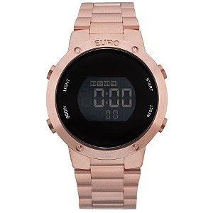 Relógio Euro Feminino Digital Rosé EUBJ3279AF/4J