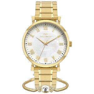 Relógio Technos Feminino Analógico Dourado 2035MQZ/K4B