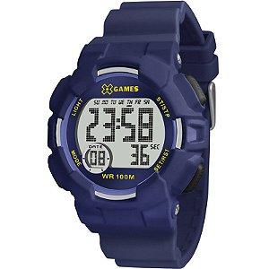Relógio X-Games Masculino Azul XMPPD492BXDX