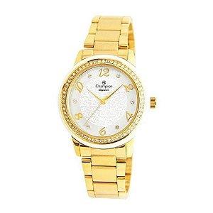Relógio Champion Analógico Feminino Dourado CN25994H