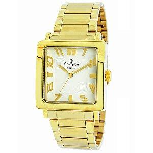 Relógio Champion Analógico Feminino Dourado  CN26886H