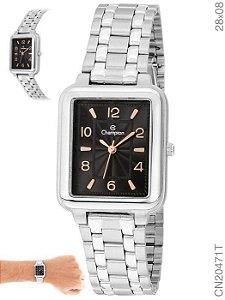 Relógio Champion Analógico Feminino Prateado CN20471T