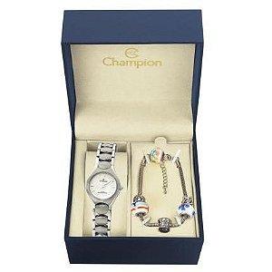 Relógio Champion Feminino Analógico Prateado CA28181Y