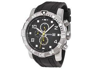 Relógio Magnum Masculino Cronógrafo Preto MA34174P
