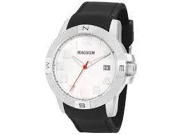 Relógio Magnum Masculino Analógico Preto MA34870Q