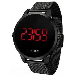 Relógio Lince Unissex Preto Digital MDN4586LPXPX