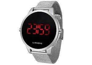Relógio Lince Masculino Digital Prateado MDM4586L