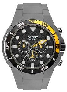 Relógio Orient Masculino Cronógrafo Cinza MBTTC003