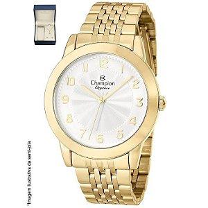 Relógio Champion Analógico Feminino Dourado CN28428W