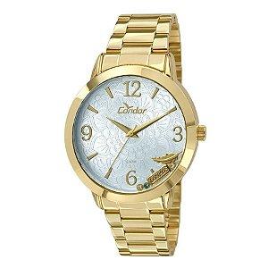 Relógio Condor Analógico Feminino Dourado CO2036CM/4X