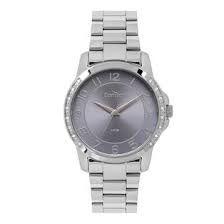 Relógio Condor Feminino Analógico Prateado CO2035MOPK3A