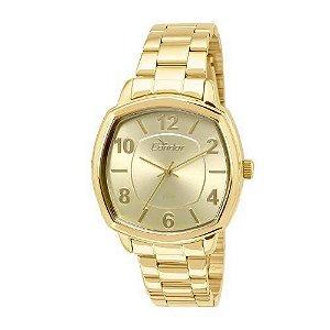Relógio Condon Analógico Feminino Dourado CO2035KOQ4D