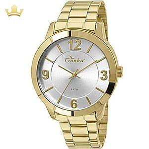Relógio Condon Analógico Feminino Dourado CO2035KOOK4K