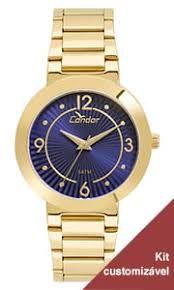Relógio Condon Analógico Feminino Dourado CO2035KVQK4A