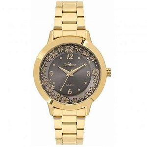 Relógio Condon Analógico Feminino Dourado CO2039BF/4F
