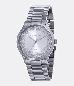Relógio Lince Feminino Analógico Prateado LRM4593LS1SX